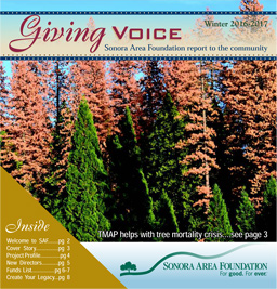 Sonora Area Foundation Newsletter
